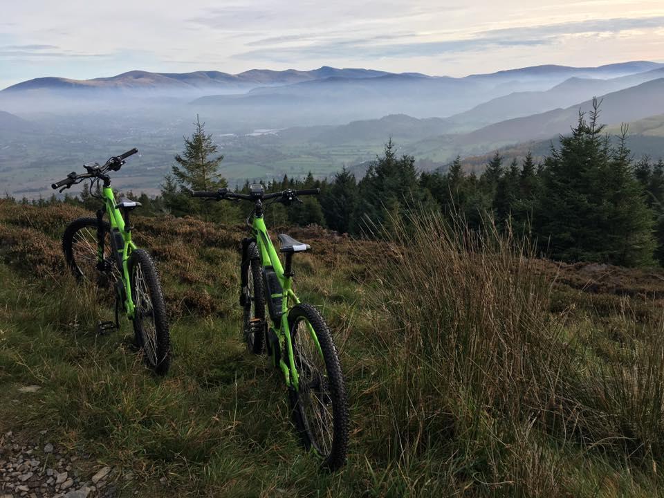 Electric Mountain Bike Hire Keswick